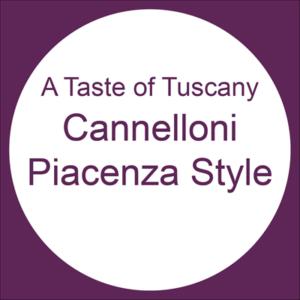 Cannelloni Piacenza Style