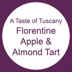 Florentine Apple and Almond Tart