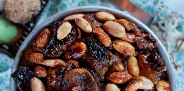 Dominique Rizzo - Recipes Fig Compote Christmas Cake