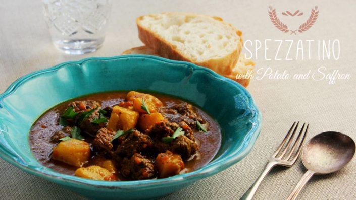Spezzatino with Potato and Saffron
