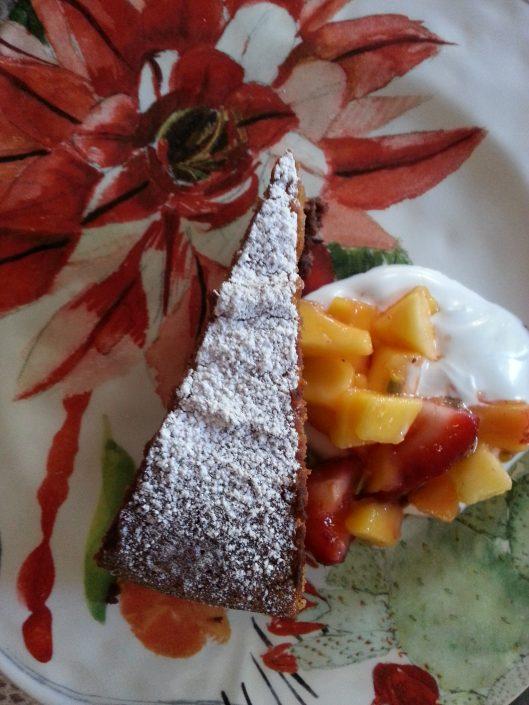 Dominique Rizzo - Cake flourless coconut chocolate
