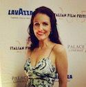 Lavazza film festival 2015 -Dominique at the Film Festival