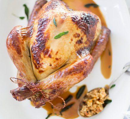 Festive stuffed Turkey