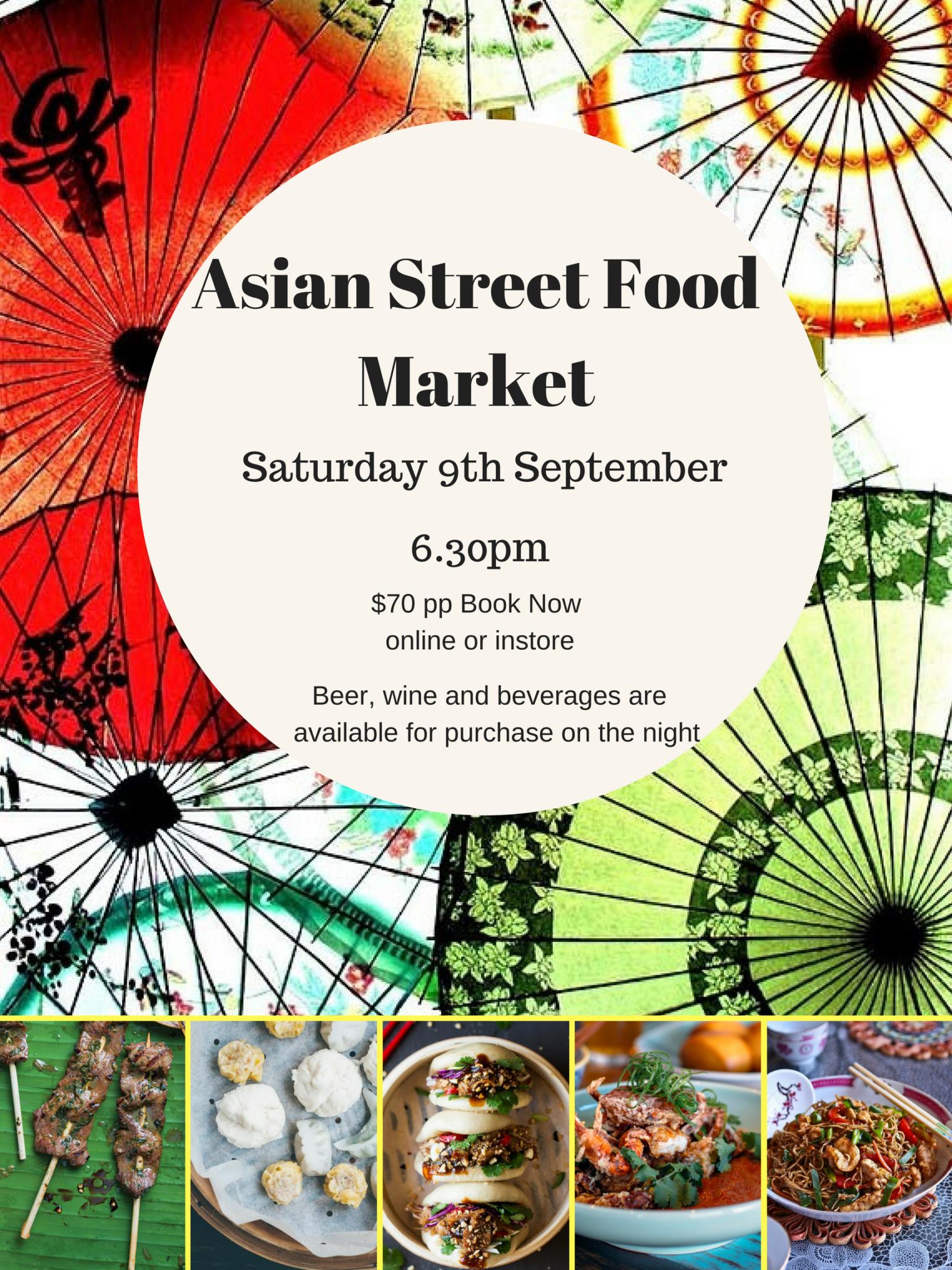 Asian Street Market Patio Series Event - Putia Pure Food Kitchen