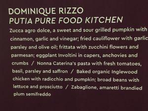 Tastes Like Sunshine - Chef Dominique Rizzo Perfect Italian Meal