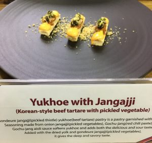 Good Food & Wine Show with Chef Dominique Rizzo - Korean Style Beef Tartare
