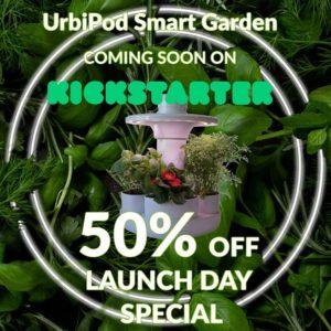 Kickstarter Urbipod Smart Garden