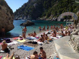 My day on Isle of Capri - Dominique Rizzo food wine tours - Lido di Faro by johnhenderson.com