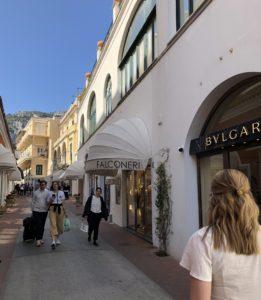 My day on Isle of Capri - Dominique Rizzo food wine tours - Via Camerelle