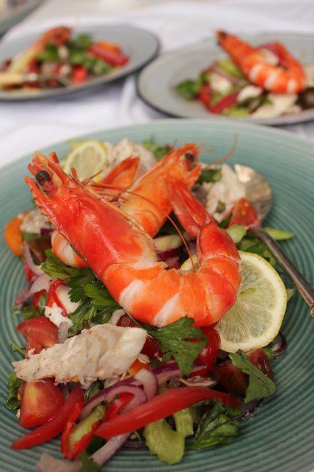 Dominique Rizzo - Catalan seafood salad