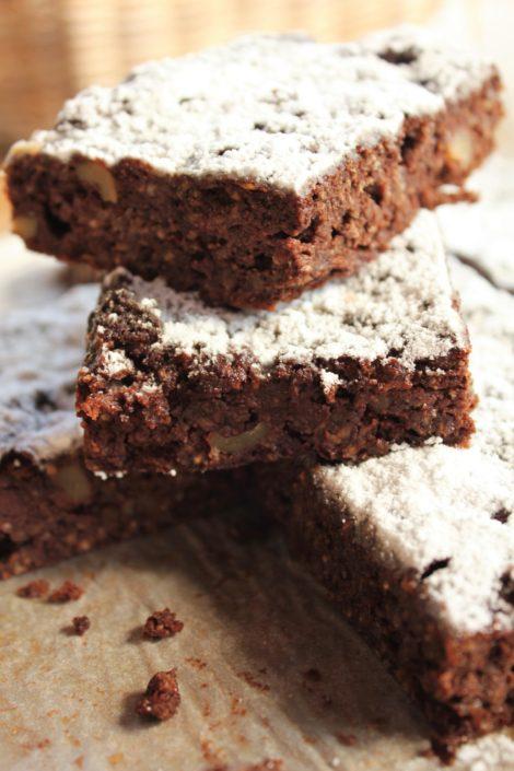 Chia seed gluten Free brownie