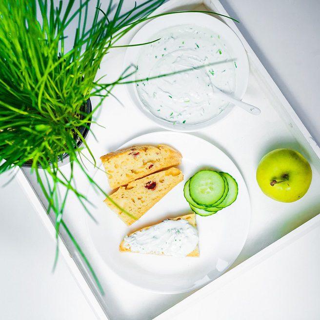 Cucumber and Yoghurt salad