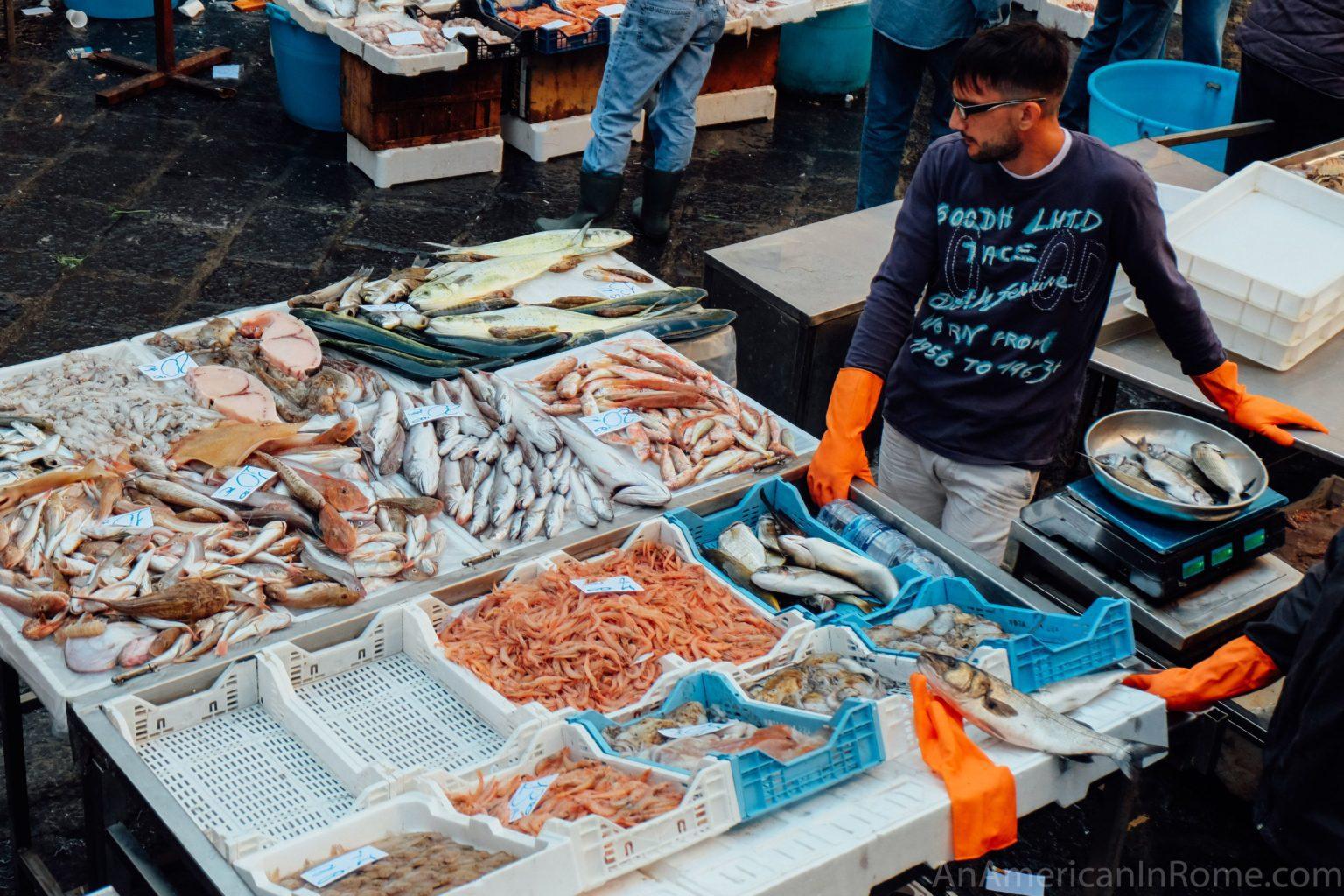 Catania Fish markets