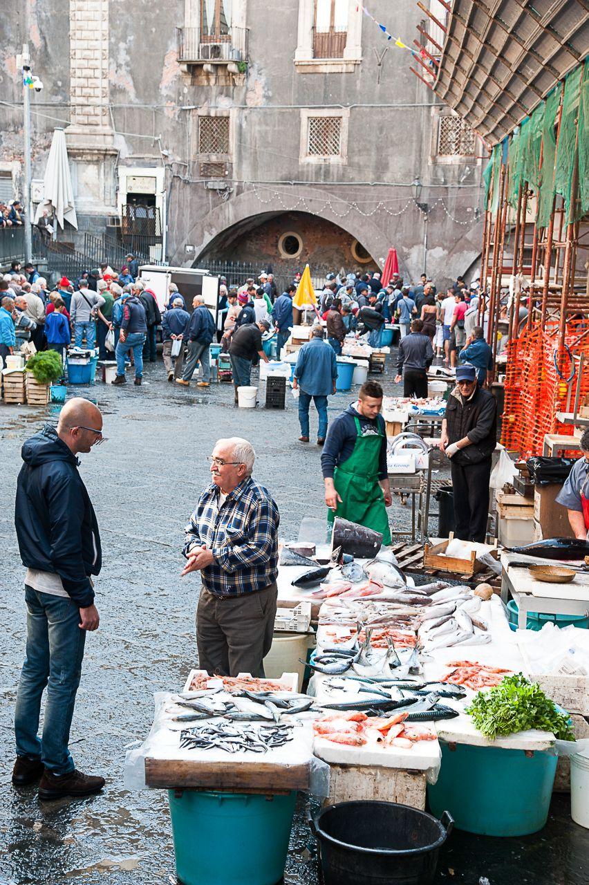 Catania fish market, Sicily_ By Mary Mackie