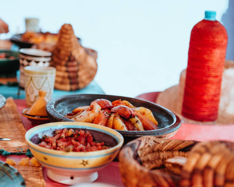 Essaouira cooking class seafood morocco