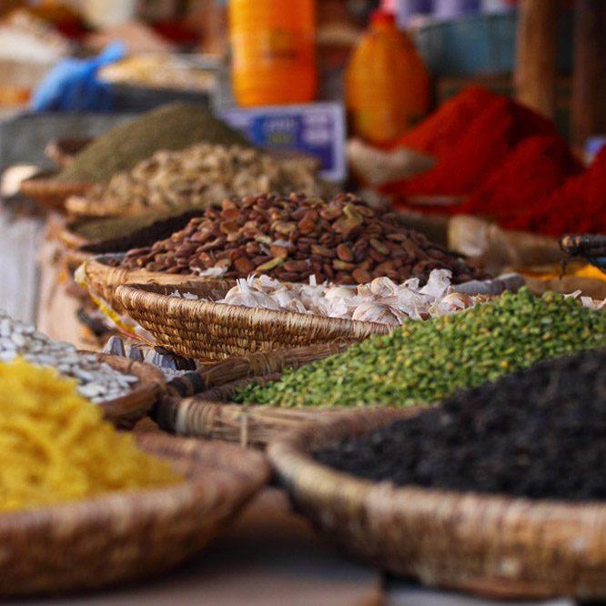 Food Markets Morocco
